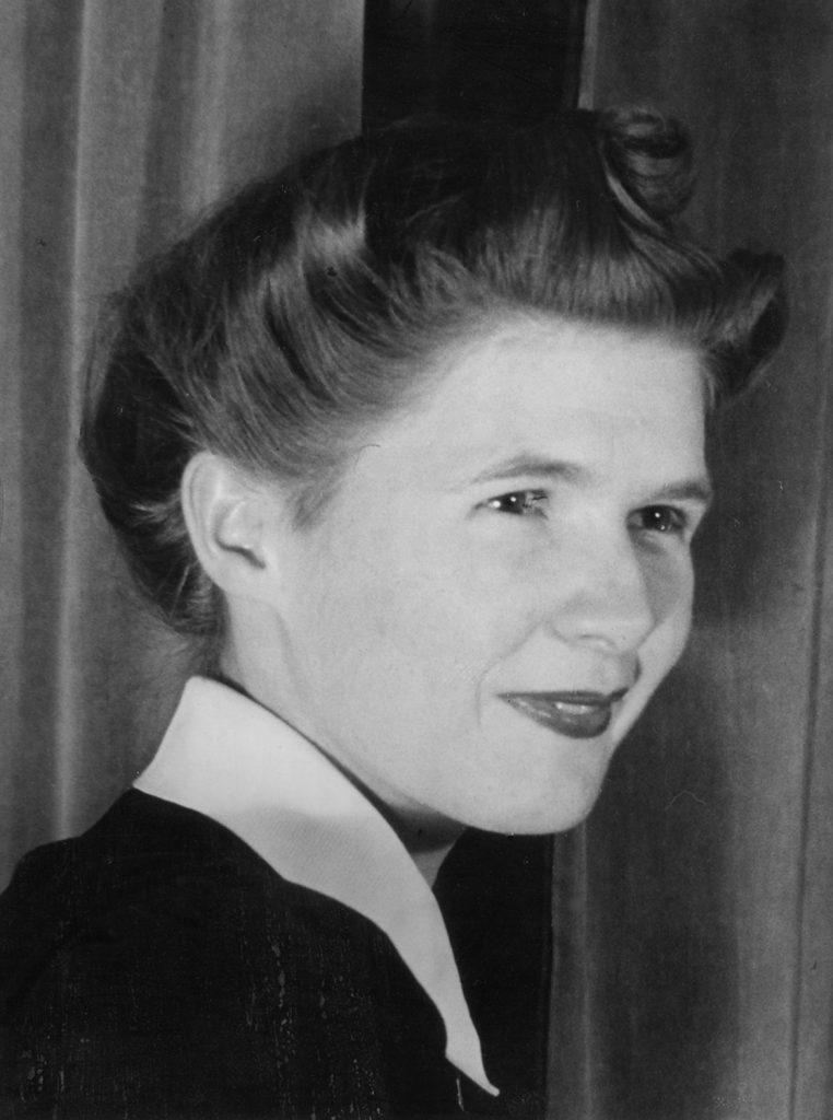 Portrait of Marie Van Bergen Mansuy