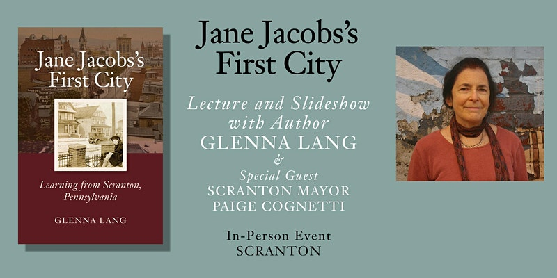 Event graphic for Lang's reading on May 4.